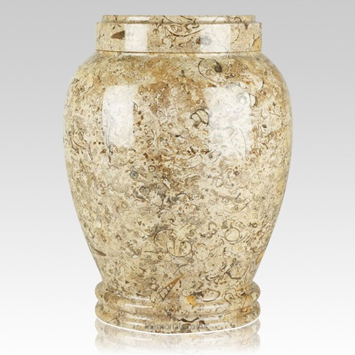 Fossil Stone Cremation Urn