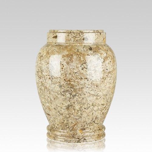 Fossil Stone Medium Cremation Urn