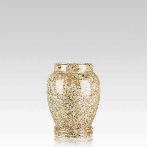 Fossil Stone Small Cremation Urn