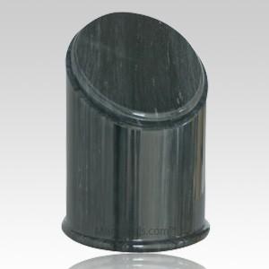 Crown Black Marble Urn