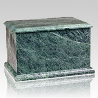 Evermore Green Marble Urn