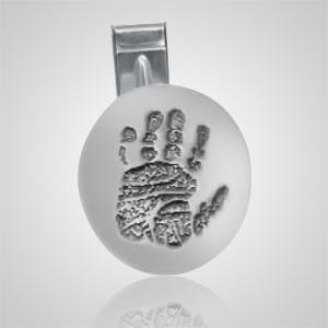 Cufflinks Print Sterling Silver Keepsakes