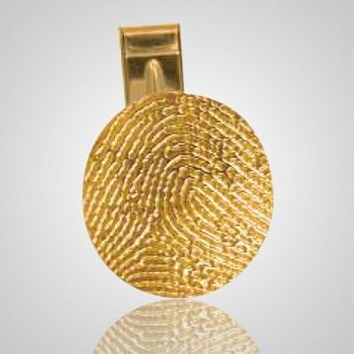 Cufflinks Print 14k Yellow Gold Keepsakes