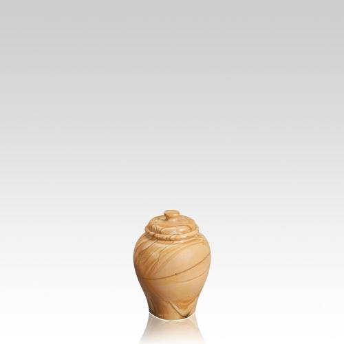 Gatti Small Marble Cremation Urn
