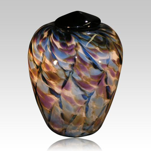 Beamers Glass Cremation Urn