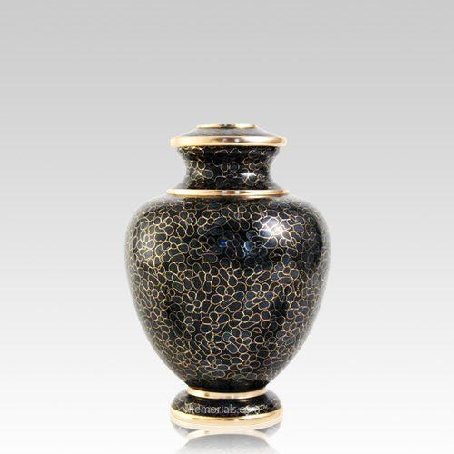 Slate Essence Medium Cloisonne Urn