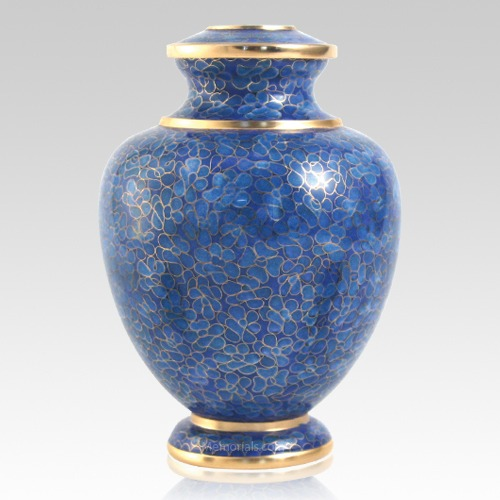 Azure Essence Cloisonne Urn