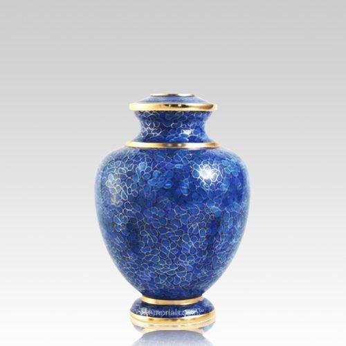 Azure Essence Medium Cloisonne Urn