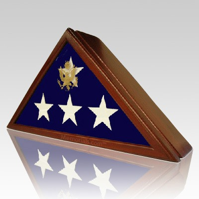 Eternity Flag Display Case with Urn