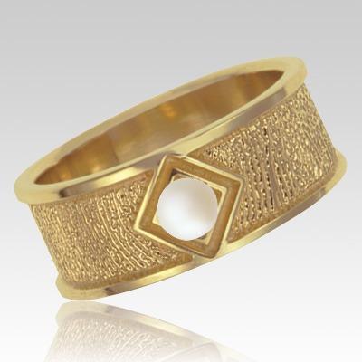 Pearl 14k Yellow Gold Ring Print Keepsake