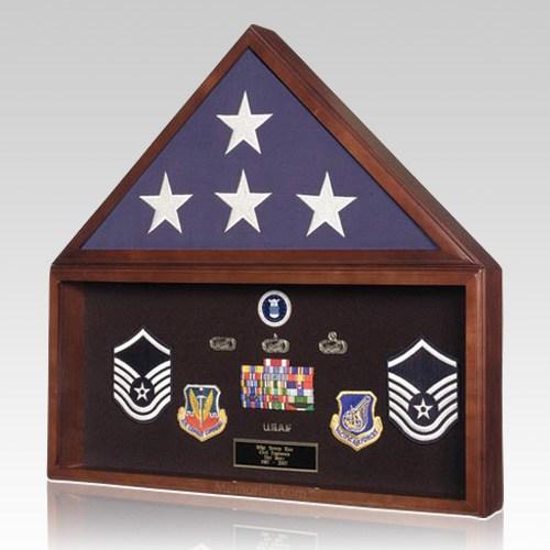 Flag & Memorabilia Display Case