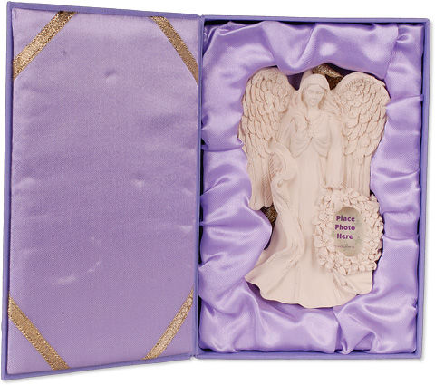 Grace with Photo Gift Boxed Angel