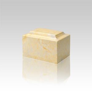 Gold Marble Keepsake Urn