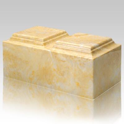 Gold Marble Companion Urn