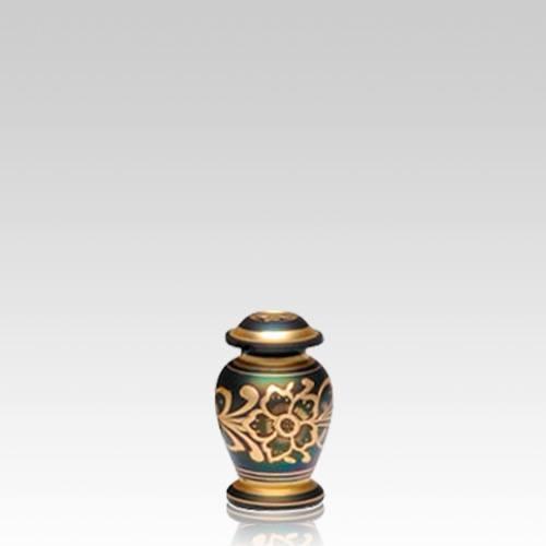 Golden Flower Keepsake Cremation Urn