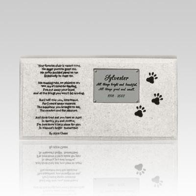 Cat Grave Marker Memorial II