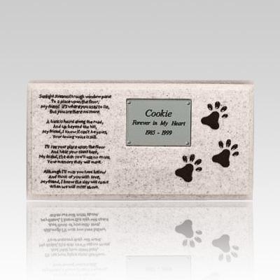 Dog Grave Marker Memorial II