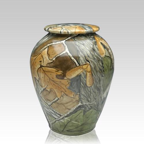 Camo Medium Cremation Urn
