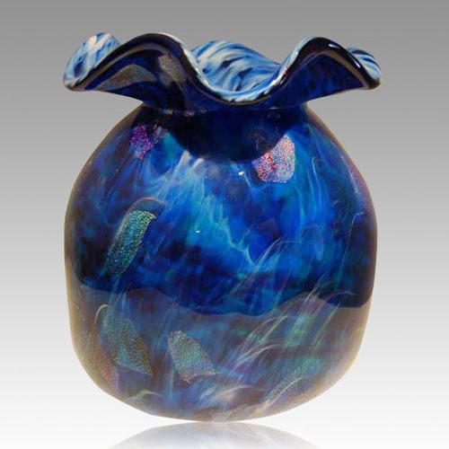 Healing Dreams Glass Cremation Urn
