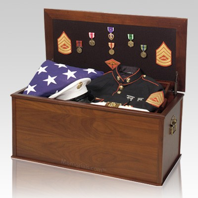 Patriotic Military Memento Box