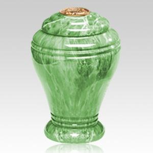 Jade Marble Cremation Urn IV