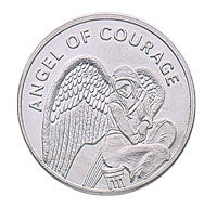 Angel of Courage Keepsake Coins