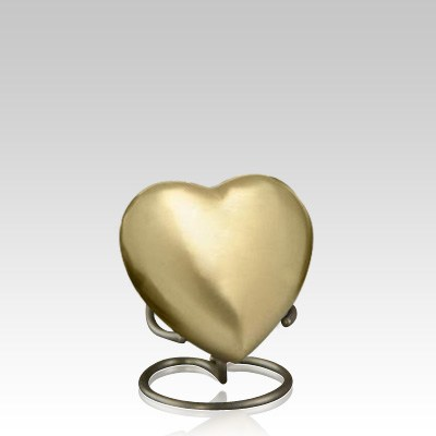 Bronze Heart Memorial Gift