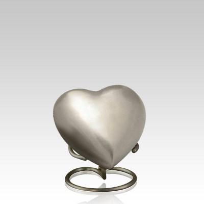 Pewter Heart Memorial Gift