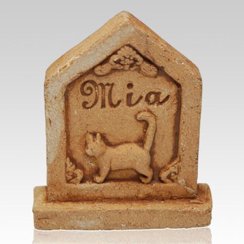 Kitty Ceramic Grave Stone