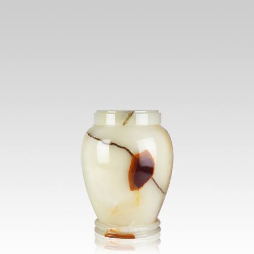 Light Green Onyx Small Cremation Urn