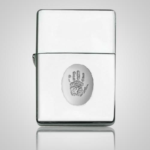 Zippo Print Sterling Silver Keepsake