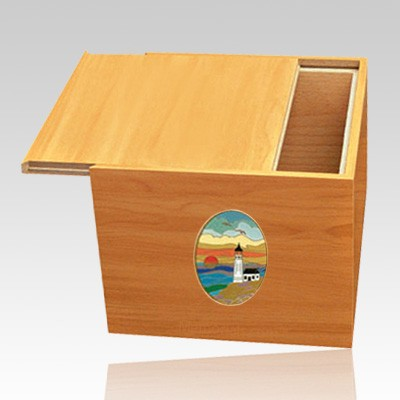 Norwegian Lighthouse Cremation Urn