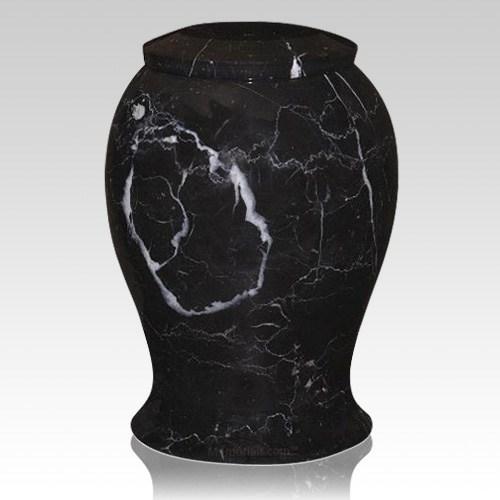 Lotus Large Marble Cremation Urn