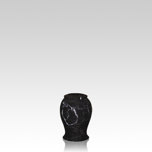 Lotus Small Marble Cremation Urn