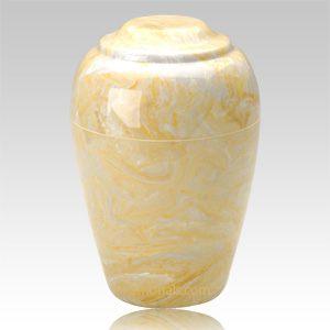 Gold Pet Cremation Urn