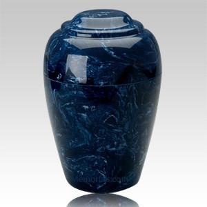 Navy Pet Cremation Urn