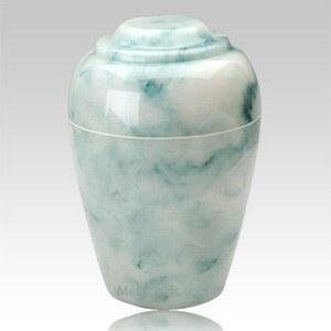 Grecian Teal Onyx Cremation Urn II