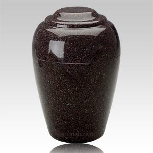 Vintage Red Pet Cremation Urn