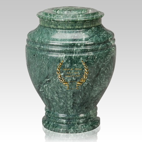 Timeless Large Marble Cremation Urn