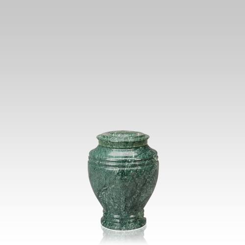 Timeless Small Marble Cremation Urn