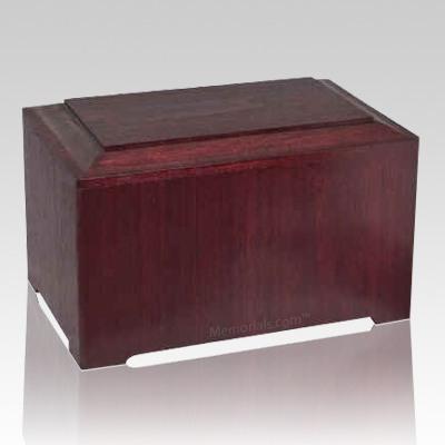 Marquis Rosewood Wood Urn