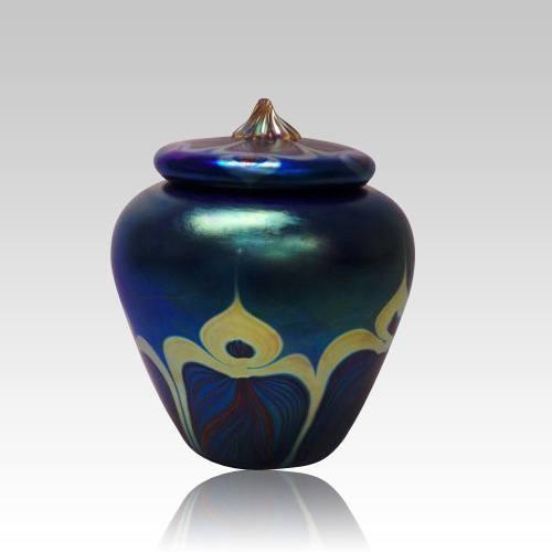Peacock Art Medium Cremation Urn
