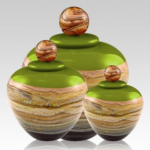 Memoriam Green Art Cremation Urns