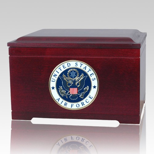 Air Force Memory Chest Cremation Urn