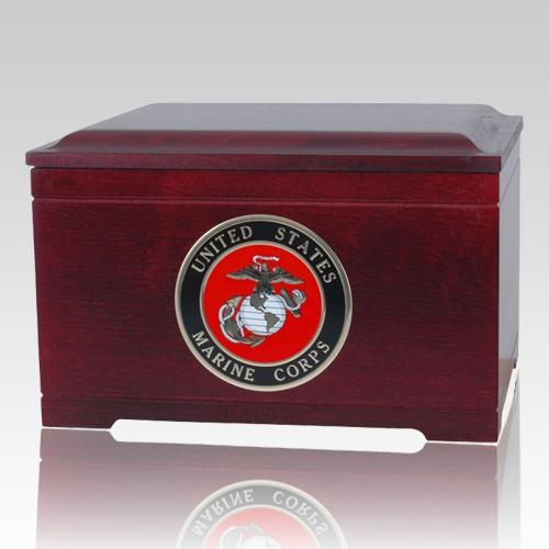 Marines Memory Chest Cremation Urn