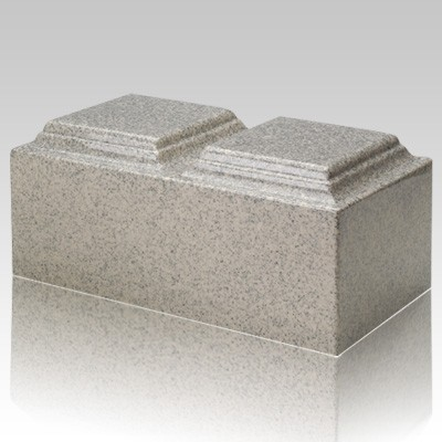 Mist Gray Granite Companion Urn