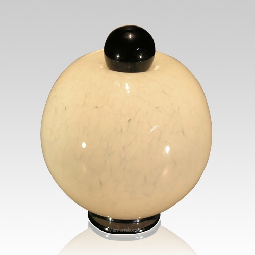 Moon Water Glass Cremation Urn