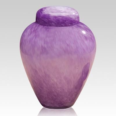 Moonlit Glass Cremation Urn