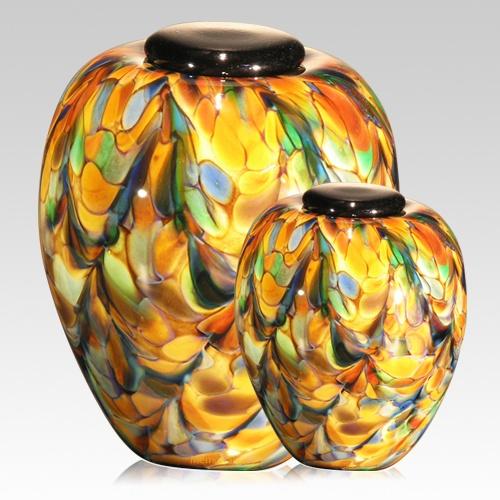 Mundo Glass Cremation Urns