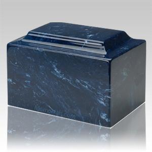 Navy Marble Individual Urn
